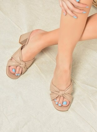 Cream - Slippers