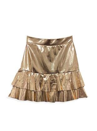 Copper - Cotton - Girls` Skirt