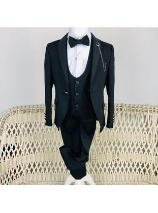 Black - Boys` Suit