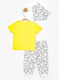 Crew neck - Unlined - Yellow - Baby Suit