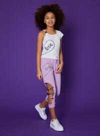 Multi - Lilac - Girls` Shorts