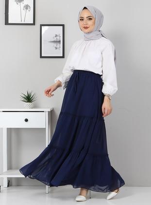 Unlined - Indigo - Skirt