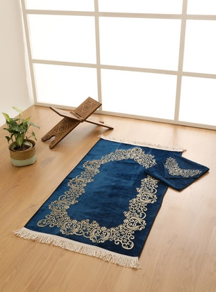 Navy Blue - Prayer Rugs