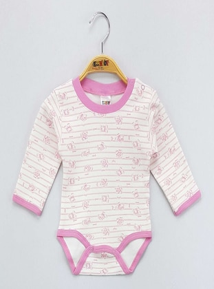 Pink - baby bodysuits