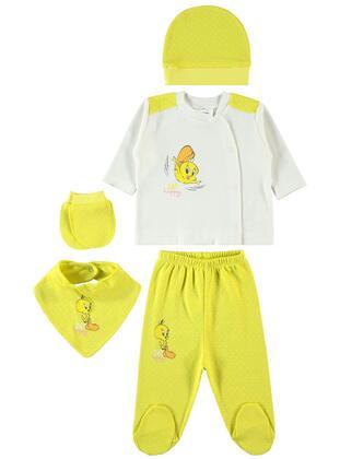 Yellow - Baby Underwear Set