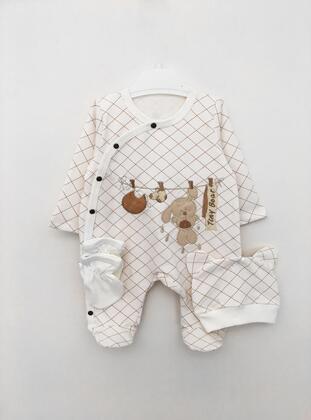 Multi - Baby Sleepsuit - BY LEYAL