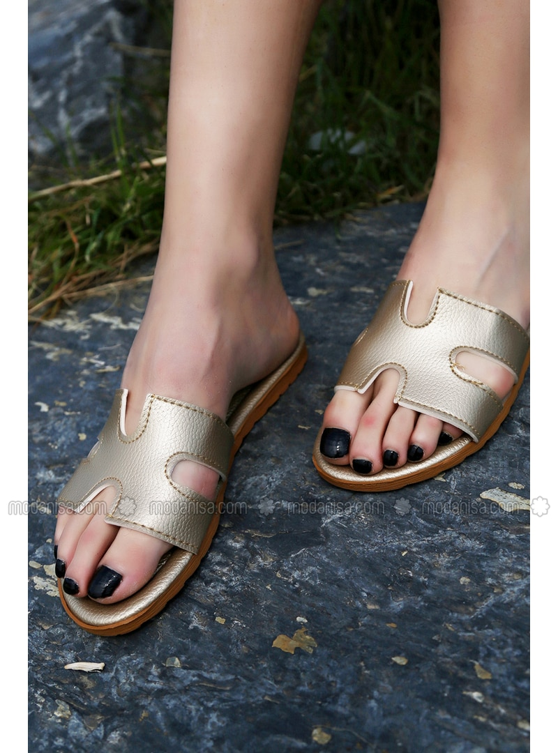 Gold - Sandal