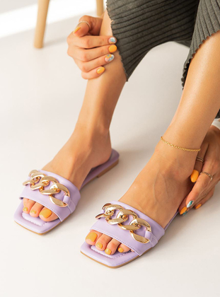 Lilac - Sandal - Slippers