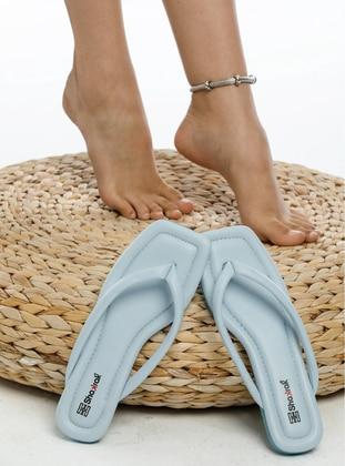 Blue - Sandal - Slippers