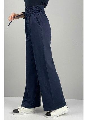 Navy Blue - Pants - MODAPİNHAN
