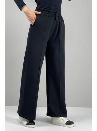 Black - Pants - MODAPİNHAN