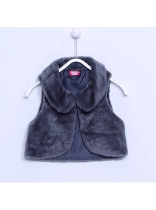 Gray - Girls` Vest