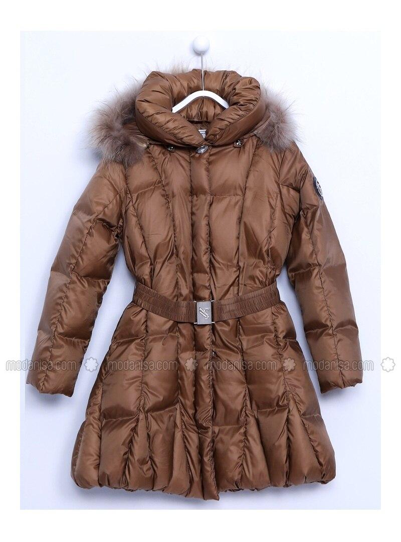 Brown - Girls` Jacket