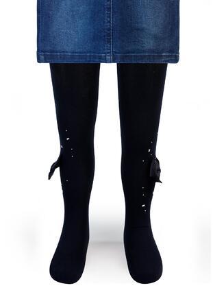 Navy Blue - Girls` Socks - Civil