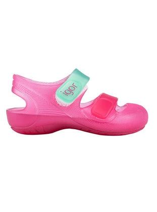 Fuchsia - Boys` Beach Shoes