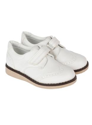 White - Boys` Shoes - Sanbe