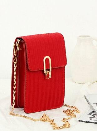 Red - Clutch - Wallet