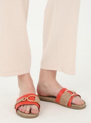 Orange - Sandal - Slippers