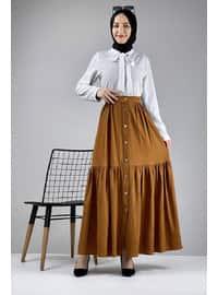 Tan - Skirt