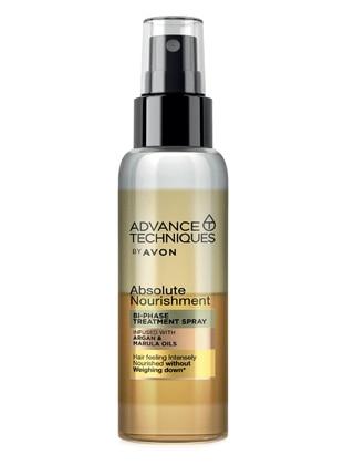 Advance Techniques Argan ve Bi-Phase Hair Spray with Marula Oil 100 Ml.