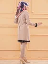 Mink - Unlined - Cotton - Suit