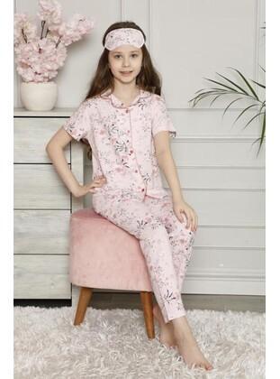 Pink - Girls` Pyjamas - MNK Baby