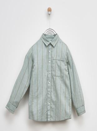 Green - Boys` Shirt