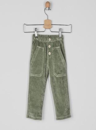 Green - Baby Pants