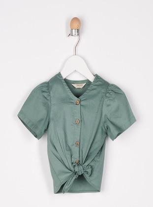 Green - baby shirts
