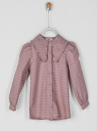 Lilac - Girls` Shirt - Panço