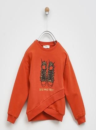 Terra Cotta - Girls` Sweatshirt