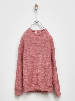 Dusty Rose - Girls` Sweatshirt