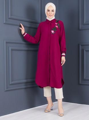 Cherry - Point Collar - Tunic