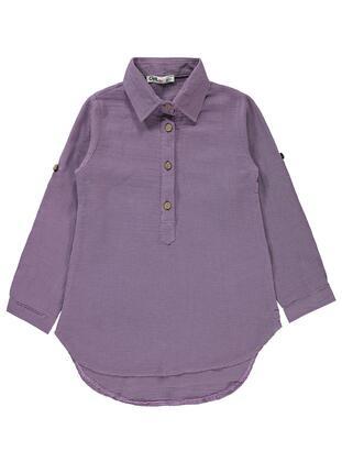 Purple - Girls` Shirt - Civil