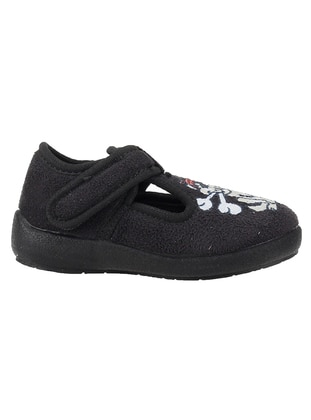 Casual - Black - Kids Home Shoes