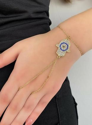 Gold - Hand Chain - Takıştır Bijuteri