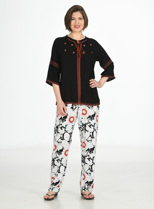 Black - Loungewear Suits