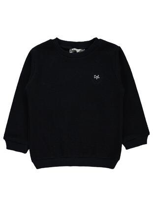 Navy Blue - Boys` Sweatshirt - Civil