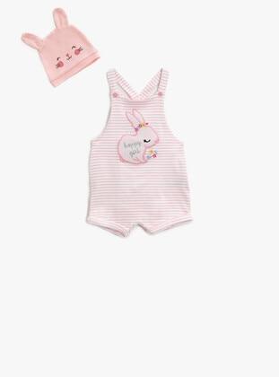 Pink - Girls` Salopettes & Jumpsuits