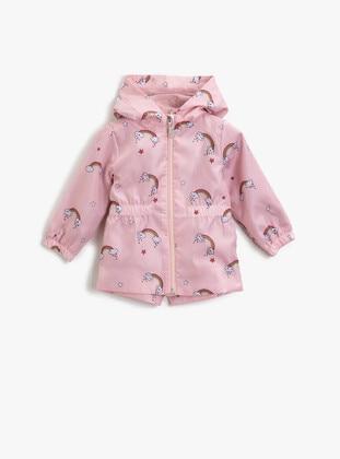 Pink - Girls` Jacket - Koton
