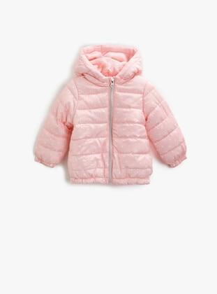 Pink - Girls` Coat - Koton