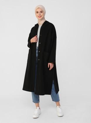 Black - Unlined - Acrylic - Topcoat