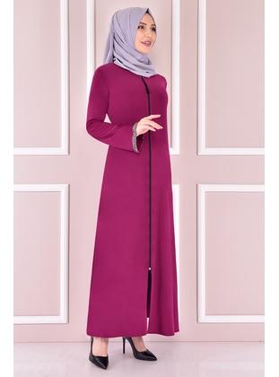 Fuchsia - Evening Abaya