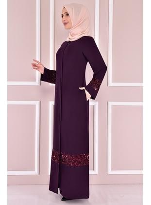 Purple - Evening Abaya