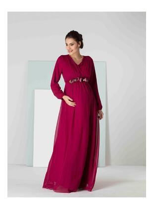 Multi - Maternity Evening Dress - IŞŞIL