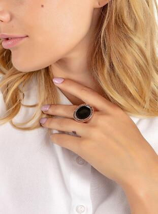 Gold - Silver tone - Rose - Ring
