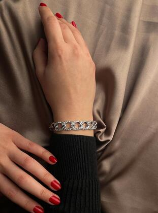 Silver tone - Bracelet - Much and More