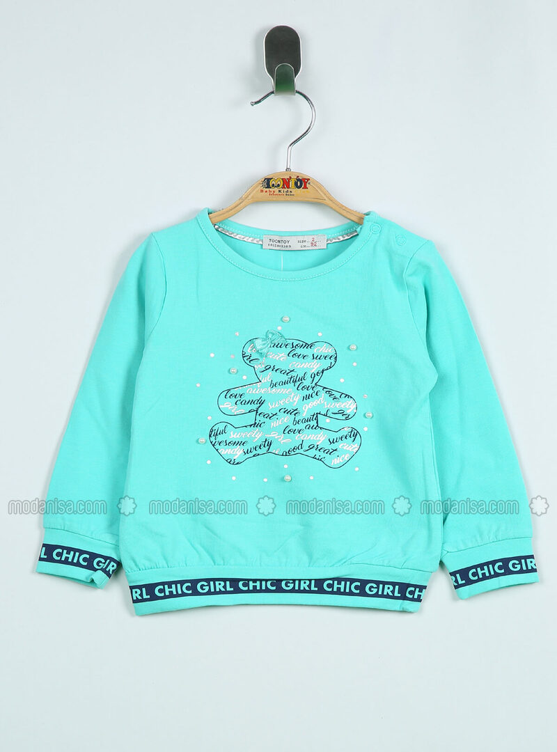 Multi - Green Almond - baby t-shirts