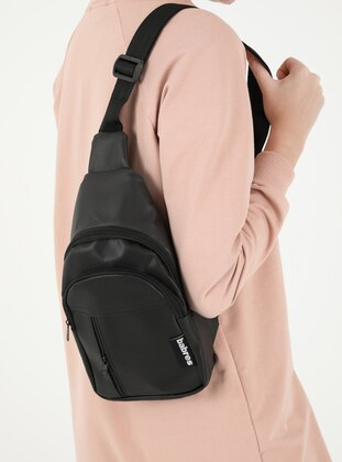 Black - Satchel - Backpack - Bum Bag - SAMKO STORE