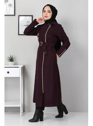 Unlined - Plum - Coat